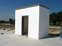 Safe Room built with ICF